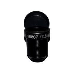 Объектив Yunxi lens LHA200-S (M12/2Мп/ИК/5 линз/мет) 2.8мм