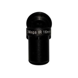 Объектив Yunxi lens LHA300-S (M12/3Мп/ИК/5 линз/мет) 16мм