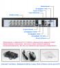 16-канальный AHD-NH регистратор AHB7016T-LM-V3-T2