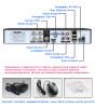 4-канальный AHD-NH регистратор AHB7804T-LM-V3