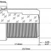 Объектив ShenZhen YiYi optics EE-2834H-3MP (M12/3Мп/ИК/4G/мет) 2.8мм