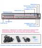 32-канальный AHD-NH регистратор AHB7032F4-LM-V3
