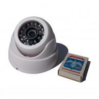 Купольная пластиковая IP миникамера IPG-83HE20PY-S-T2 2Мп 1080p h265