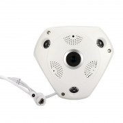 Купольная панорамная IP камера VR360 1.3Мп SC2135 1.1мм