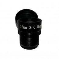 Объектив Yunxi lens LHA300-S (M12/3Мп/ИК/5 линз/мет) 12мм