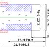 Объектив ShenZhen YiYi optics EE-E4031A-3MP (M12/3Мп/ИК/4G/мет) 4мм