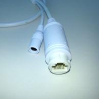 Кабель хвост IP камеры Smart PoE+12В 80см (UTP8 8p*1.25/12В 4p*1.25/ИК 2p*2)