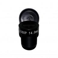 Объектив Yunxi lens LHA200-S (M12/2Мп/ИК/5 линз/мет) 4мм