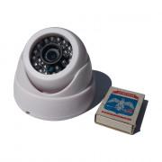 Купольная пластиковая IP миникамера IPG-50X10PT-S-T2 1Мп 720p