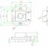 ИК фильтр день-ночь AHN30 (3Мп M12 20мм)