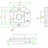 ИК фильтр день-ночь AHN30 (6Мп M12 20мм)
