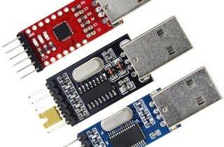 USB-UART çevirici CP2102 CH340 PL2303